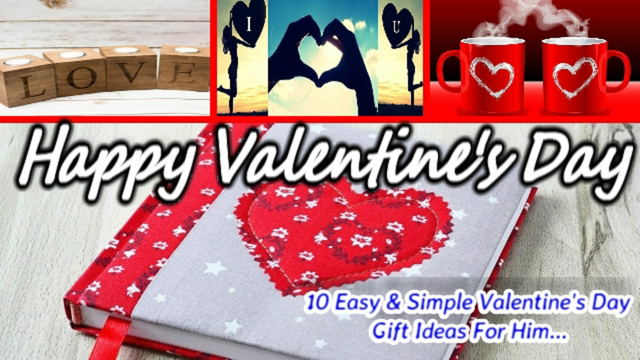 104+ Simple Valentine Day Gifts For Him - Christmas ...