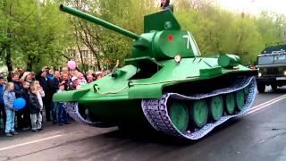 9 мая 2015 г. Петропавловск, Казахстан. День Победы