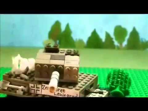 видео про лего блокада
