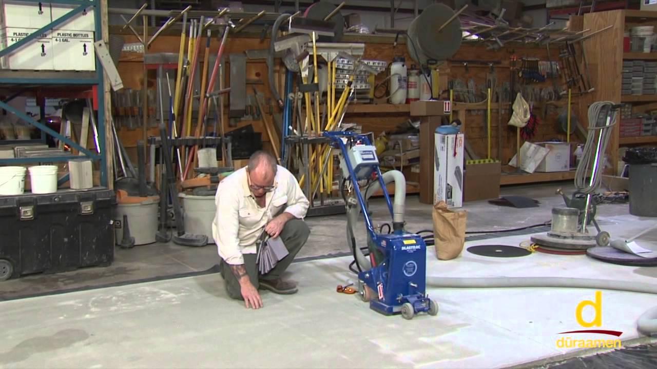 Concrete Surface Preparation Using A Shot Blasting Machine