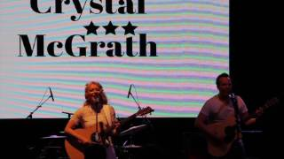 Crystal McGrath performs Nicotine  Opening for Aaron Pritchett