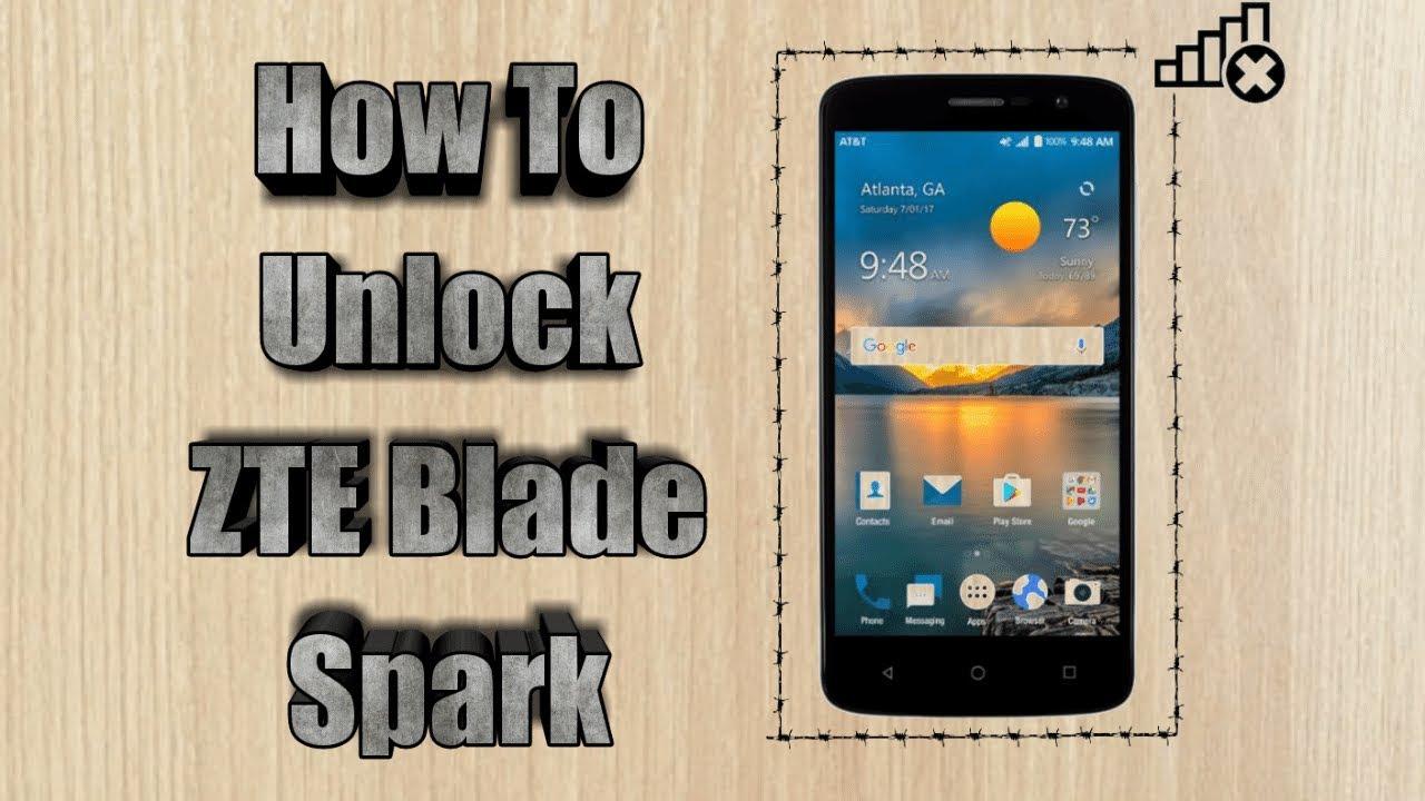 How to unlock ZTE Blade Spark | Sim Unlock At&t ZTE Blade Spark