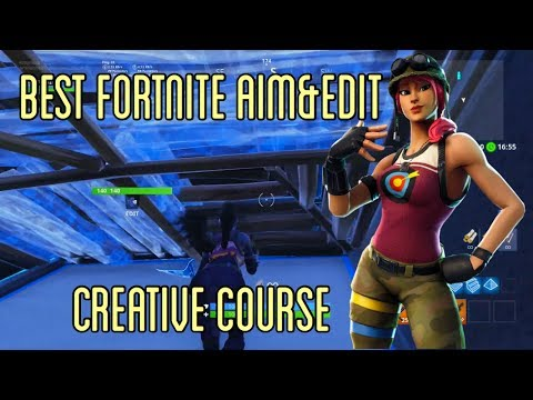 BEST Aim and Edit Course In Fortnite Creative Mode - How To Warm-Up Like The Pro's!