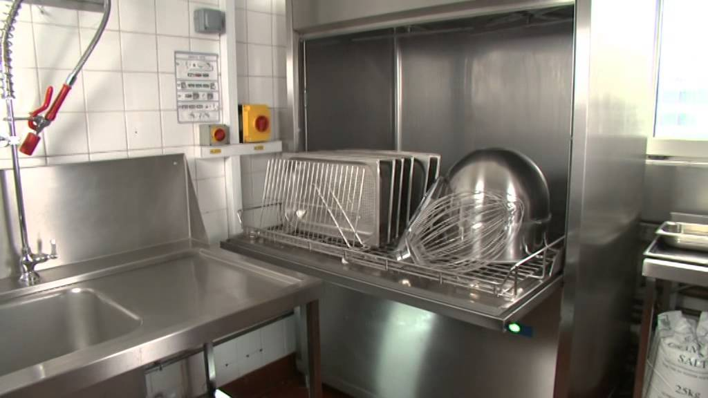 Kitchen Pots And Pans Home Depot Flooring Hobart Warewash - Commercial Utensil Washer Youtube