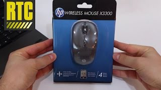 In this video I am unboxing the HP X3300, which is a long range wireless optical mouse, perfect for laptops and computers. Its size is compact, which makes it ...
