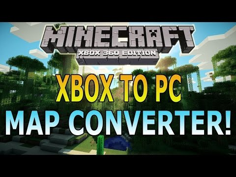 How To Convert Minecraft Xbox Maps To PC!!!