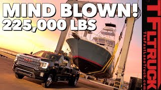 Wow - Watch the 2020 GMC Sierra Heavy Duty Pull 225,000 Pounds! Here's Everything You Need To Know