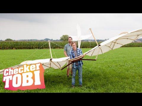 Der Traum vom Fliegen-Check | Reportage für Kinder | Checker Tobi