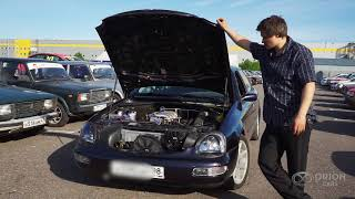 Ford Scorpio: тест драйв с 3uz fe vvti.  Автодром
