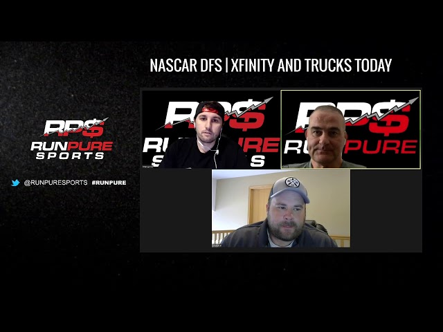 NASCAR DSF - XFINITY AND TRUCK SERIES 6-13-20
