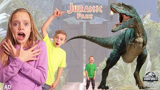 Magic Portal to Jurassic World! Kade Searches For Real Dinosaurs!