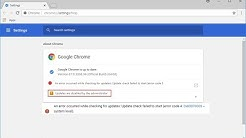 How to Fix All Google Chrome Updating Issues