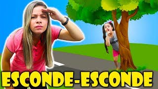 HELOÍSA E MAMÃE BRINCAM DE ESCONDE-ESCONDE