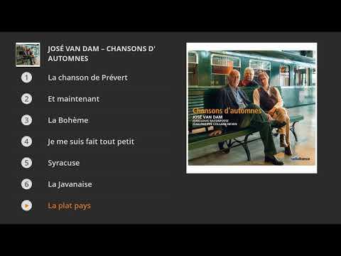 José van Dam - Chansons d'automnes