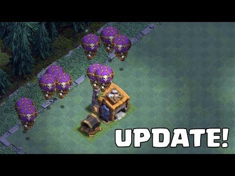 MEISTERHÜTTE 7 - SKELETTBALLON - RIESENKANONE! || Clash of Clans Update