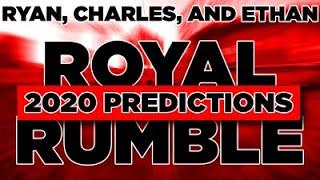 WWE Royal Rumble 2020 Predictions (w/Ryan Jarego and Ethan Zagranis).