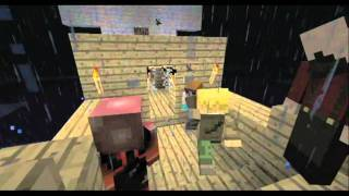 Minecraft SMP Bloopers: Lightning Never Strikes Twice In The Same Place
