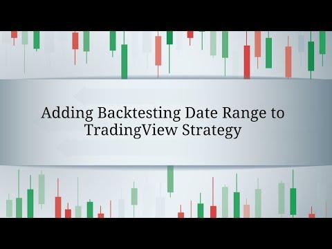 Adding Backtesting Range to TradingView Strategy