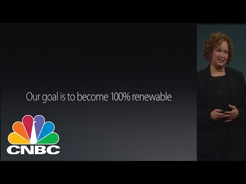 Apple 100% renewable in 23 countries | CNBC
