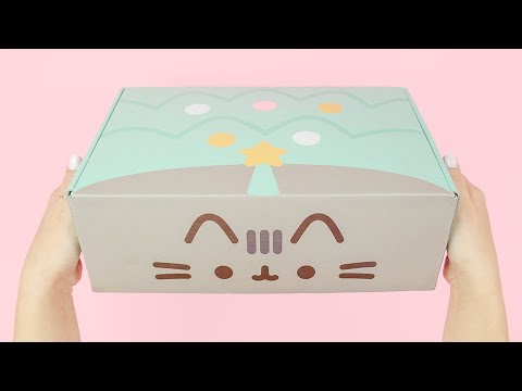Pusheen Box (Winter Box 2019) - Full Unboxing