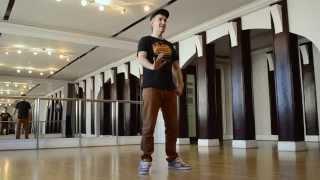Dubstep Dance Tutorial. Урок 3.2. Танцевальная связка в стиле