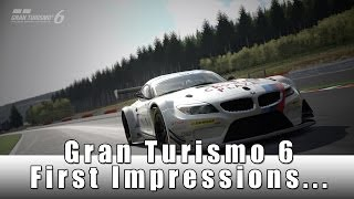 Gran Turismo 6 Lets Play Ep 1 First Impressions
