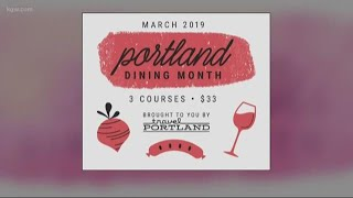 Get ready for Portland Dining Month