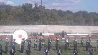 Old Bridge Marching Knights 2013 Competition at Piscataway High School