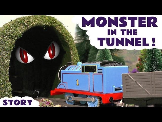 Thomas & Friends Monster In The Tunnel Toy Trains Episode - Train Toys for Kids Play - ToyTrains4u