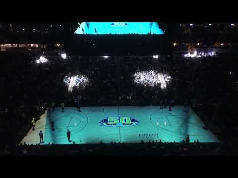 2017-18 Denver Nuggets Intro/Court Projection