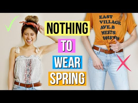 486f06c7b 12 Spring Outfit Ideas! What to Wear When You Have Nothing to Wear EP 2! -  YouTube