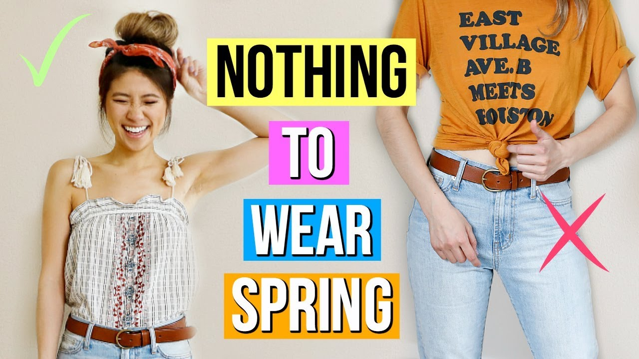 12 Spring Outfit Ideas! What to Wear When You Have Nothing to Wear EP 2! 9