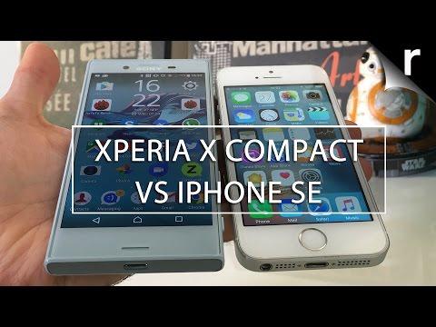 IPHONE SE XPERIA X COMPACT