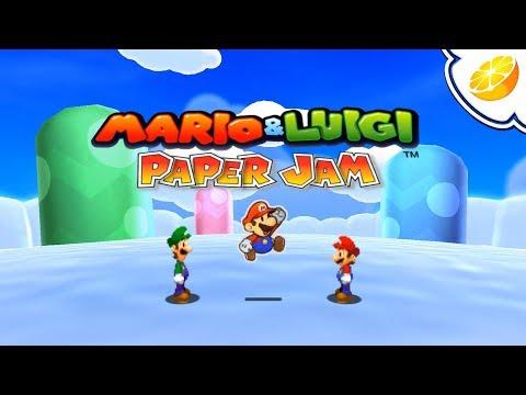 Mario & Luigi: Paper Jam   Citra Emulator (GPU Shaders, Full Speed!) [1080p]   Nintendo 3DS
