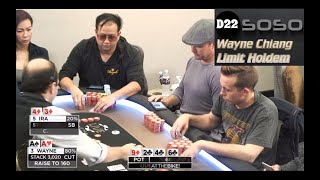 """Live at the Bike $40/$80 LHE - """"Aces Again"""" - Limit Holdem feat. D22-soso"""