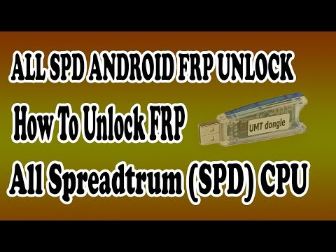All FRP SPD CPU 100% Done BY UMT TOOL