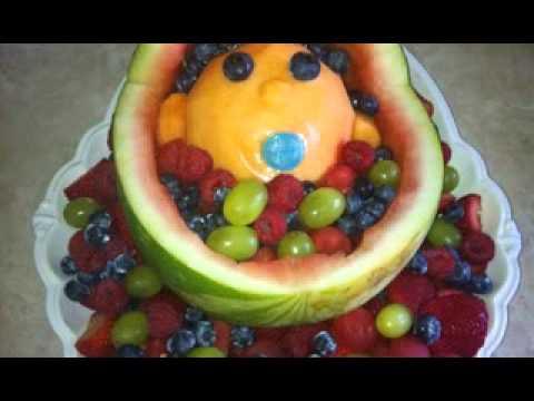 DIY Baby Shower Fruit Decor Ideas   YouTube