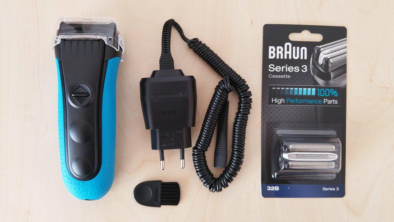 Braun series 3 3040 user manual instructions