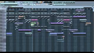 Party Ain't Over Pitbull (feat. Usher & Afrojack) FL Studio Instrumental