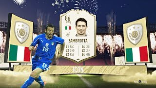 86 ICON ZAMBROTTA PLAYER REVIEW! - IS HE WORTH THE ICON SWAPS?! - FIFA 20 ULTIMATE TEAM