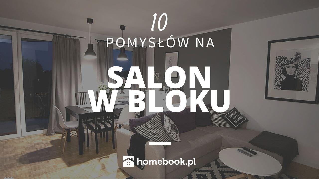 Jak Urządzić Salon W Bloku 10 Pomysłów Aranżacja Wnętrz Projekty