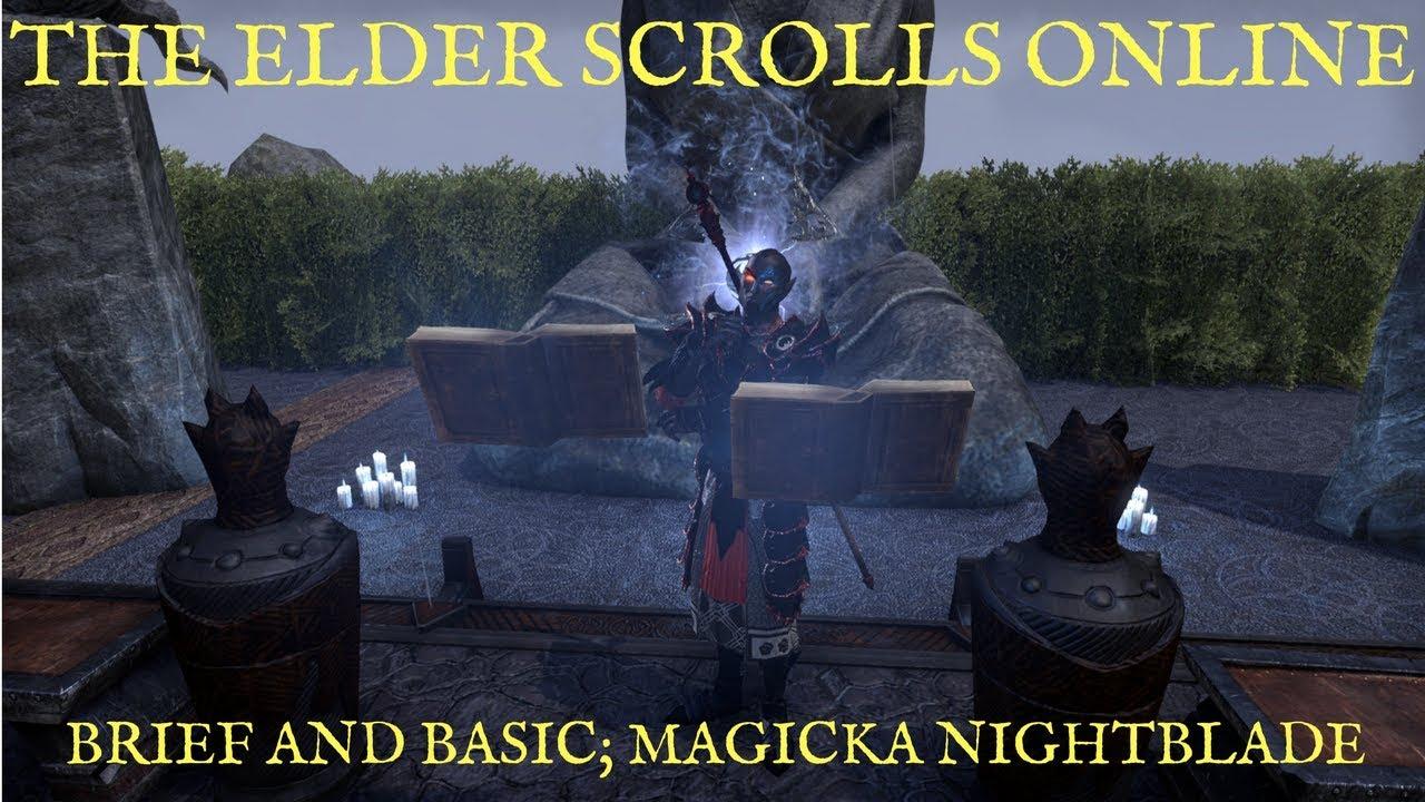 ESO Magic Nightblade DPS Build