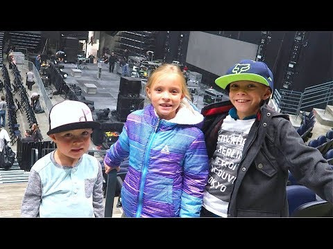 🎸PARENTS SURPRISE KIDS WITH TICKETS TO HEAVY METAL CONCERT!🎤