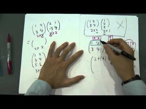 SPM - Form 5 - Modern Maths - Matrices (Paper 1)