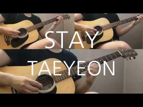Free Download Taeyeon - Stay Guitar Cover Mp3 dan Mp4