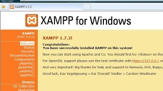 How to Install XAMPP for Windows 8 / Windows 8.1