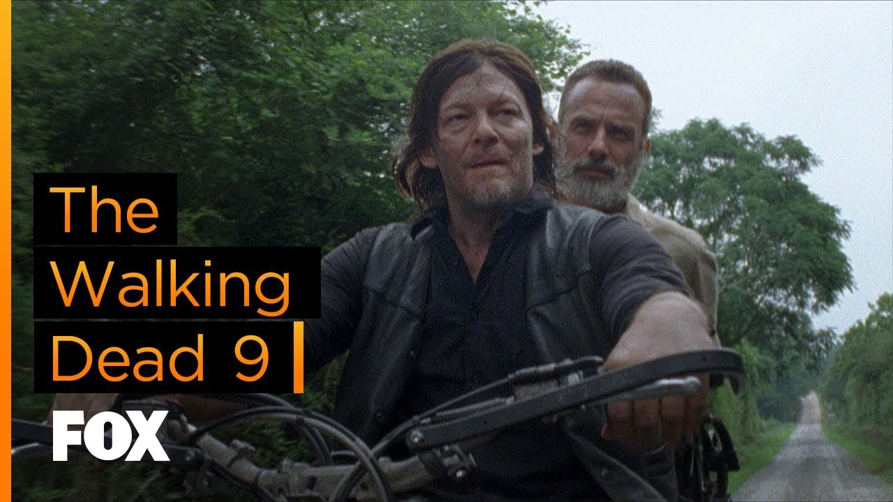 FOX | The Walking Dead 9 - Estreia 8 de outubro - YouTube