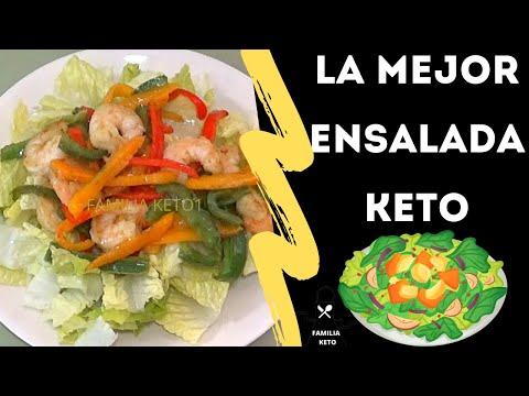 ensalada de tacos con dieta cetosis