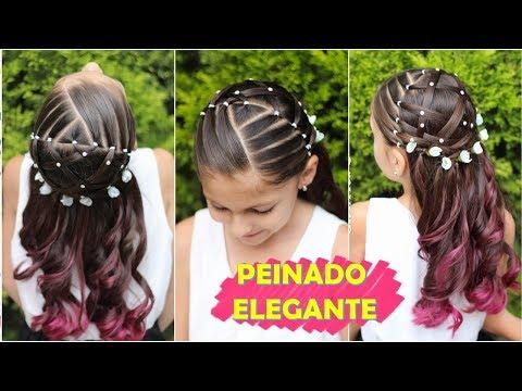 💕 Peinado Fácil, Elegante Y Rápido Para Niñas / Peinados Fáciles Y Rápidos WILVITA