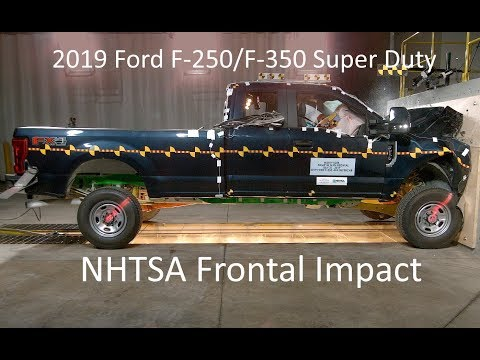 2019-2020 Ford F-250/F-350 Supercab NHTSA Frontal Impact